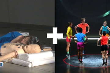 Double Bill #7 Touching theatre + Minimalistic dance